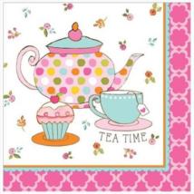 Tea Time szalvéta