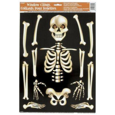 Csontváz Ablakdekoráció