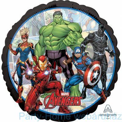 17 inch-es Marvel Bosszúállók - Avengers Fólia Léggömb