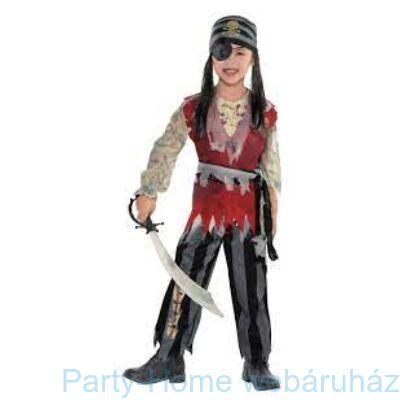 Pirate Boy - Kalóz Kisfiú Jelmez 4 - 6 éveseknek