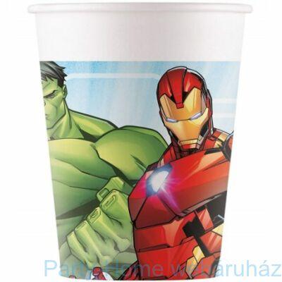 Bosszúállók (Avengers) Parti Pohár - 200 ml, 8 db-os