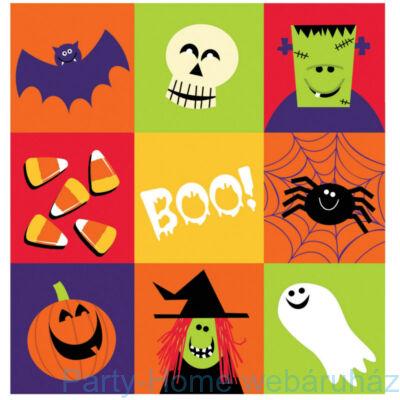 Happy Halloween Boo Monster asztalterítő 127 cm x 274 cm