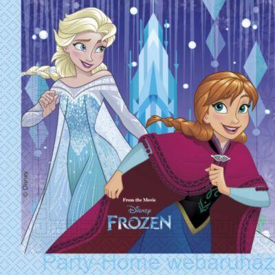 Jégvarázs Frozen Elsa & Anna Parti Szalvéta