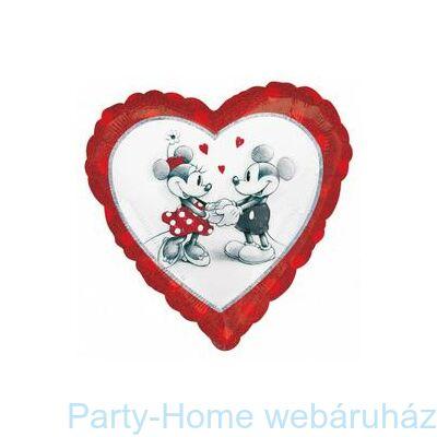 Mickey & Minnie Love Holographic Fólia Lufi