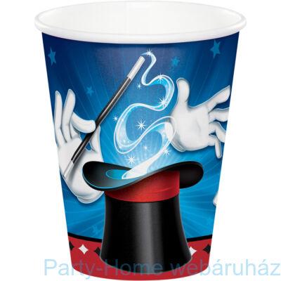Bűvész parti pohár 256 ml 8db