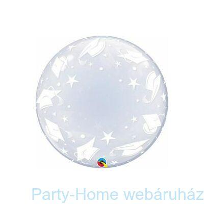 24 inch-es Graduation Caps Deco Bubble Lufi