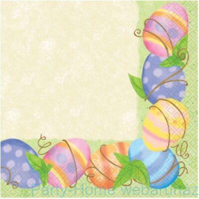 Spring Easter Húsvéti Szalvéta - 33 cm x 33 cm, 16 db-os