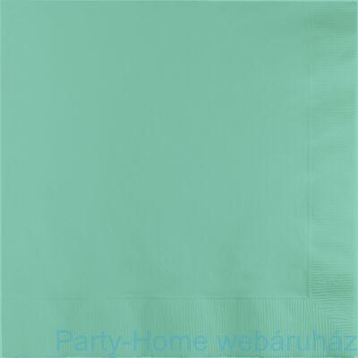 Szalvéta 33 cm menta zöld 16db