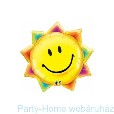 35 inch-es Sunshine Smile Face Fólia Lufi