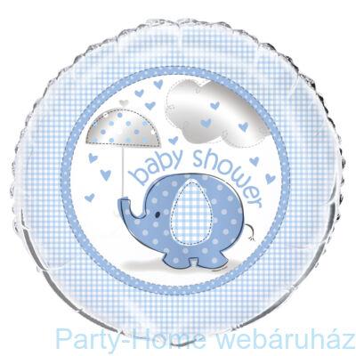 Pöttyös elefánt baby kislányos tányér 23 cm 8db