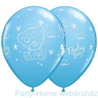 11 Inch-Es Tiny Tatty Teddy Baby Boy Pale Blue Lufi