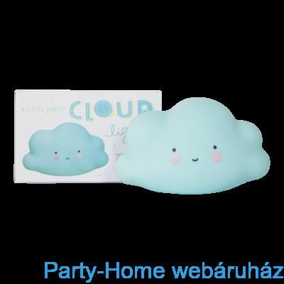 Mini led lámpa- kék felhő
