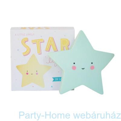 Mini Csillag Lámpa - Menta