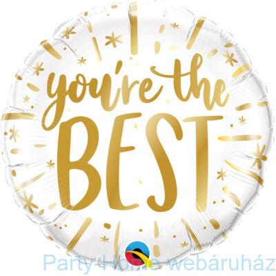18 inch-es You're The Best Gold Fólia Lufi