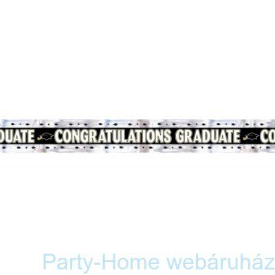 Congratulations Graduate Ballagási Girland 2,7 méter
