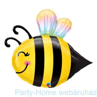 40 inch-es Méhecske - Beaming Bee Super Shape Fólia Lufi