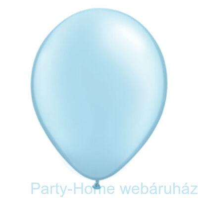 Pearl Light Blue Kerek Lufi