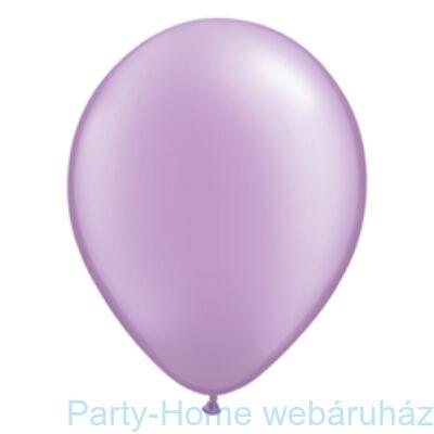 Pearl Lavender Kerek Lufi