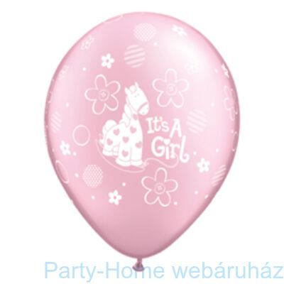 It is A Girl Soft Pony Pearl Pink Lufi Babaszületésre