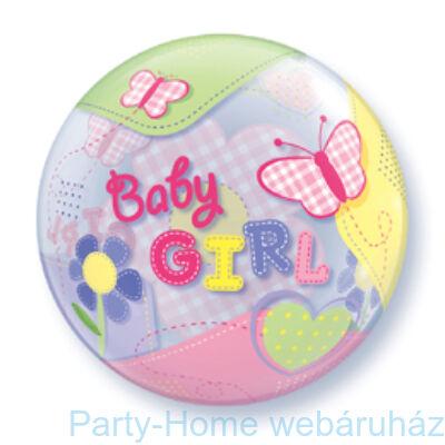 Baby Girl Butterflies Bubble Lufi Babaszületésre
