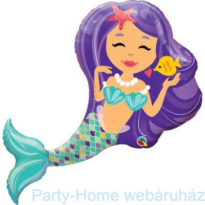 36 inch-es Enchanting Mermaid Super Shape Fólia Lufi