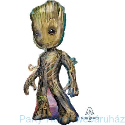 Baby Groot Super Shape Fólia Lufi