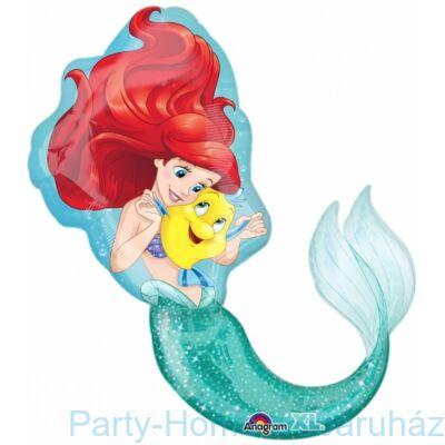 A Kis Hablány - Ariel Little Mermaid Super Shape Fólia Lufi