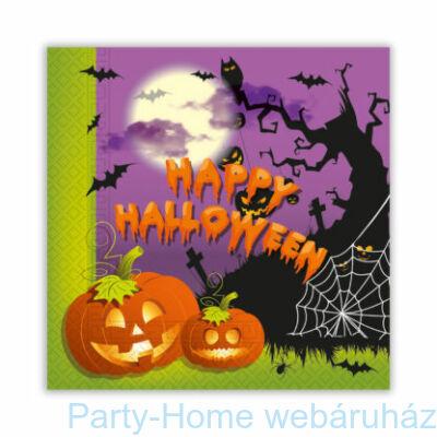 Happy Spooky Halloween Szalvéta - 33 x 33 cm-es 20 db-os