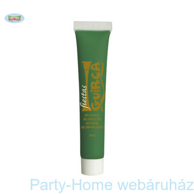 Sötétzöld Vízbázisú Testfesték 20 ml