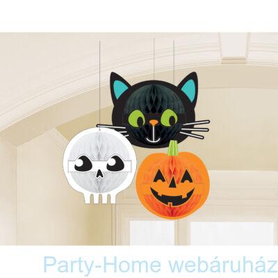 Halloween Lampion Szett 3 db-os