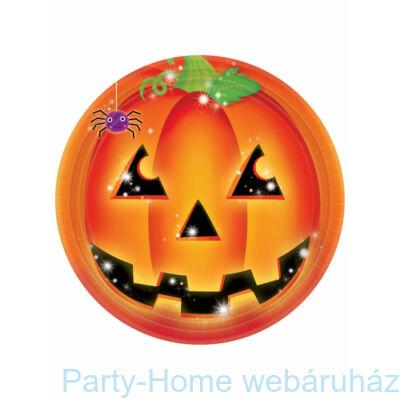 Pumpkin Pals Tökfejes Parti Tányér Halloweenre