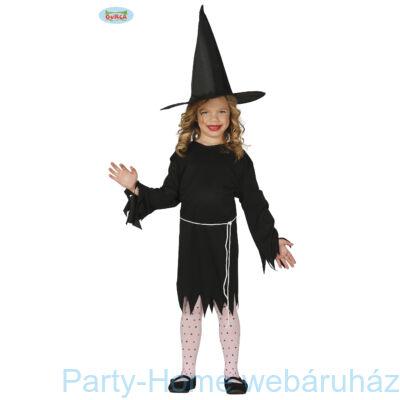 Fekete Boszorkány Jelmez Gyerek 7 - 9 éveseknek