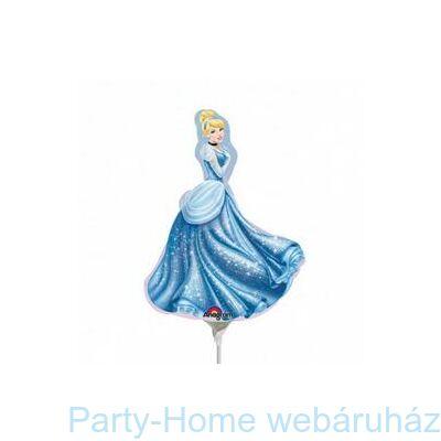 Hamupipőke - Disney Princess Cinderella Mini Shape Fólia Lufi