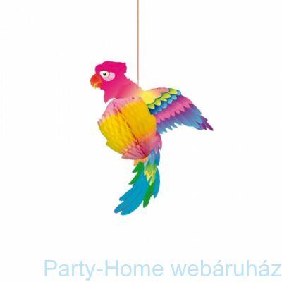 Papagáj Függő Dekoráció - 25 cm