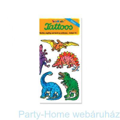 Dinoszauruszos tetoválás szett