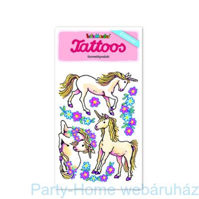 Unikornis tetoválás szett