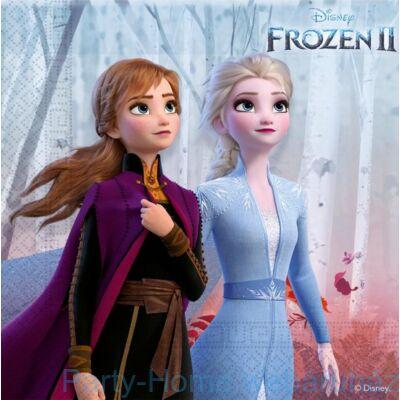 Frozen 2 - Jégvarázs 2 Szalvéta 25 cm x 25 cm - 16 db-os