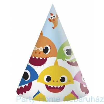 Baby Shark Party Csákó 6 db-os