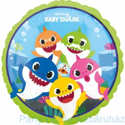 17 inch-es Bébi Cápa - Baby Shark Fólia Lufi