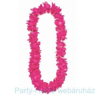 Neon Pink Hawaii Nyakfüzér Lánybúcsúra