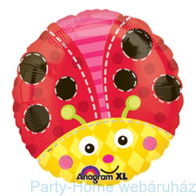 Katicabogár Cute Lady Bug Fólia Lufi