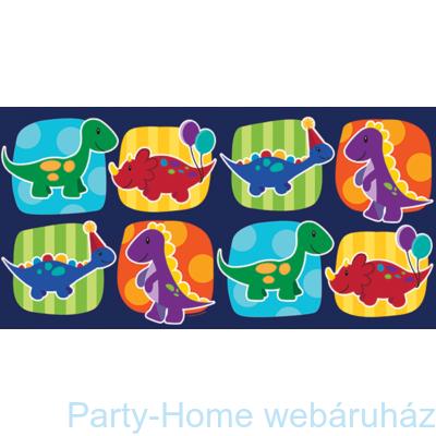 Mini dinók parti asztalterítő 137 x 274 cm