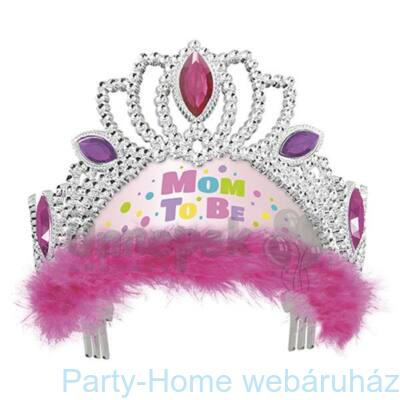 Pink Mom To Be - Kismama Parti Tiara