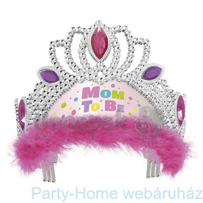 Pink Mom To Be - Kismama Parti Tiara