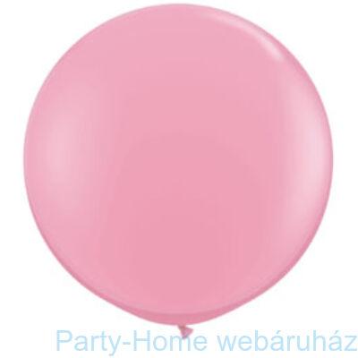 Pink Kerek Latex Lufi