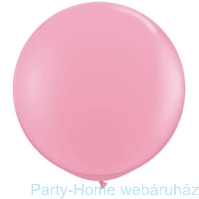 Pink Kerek Latex Lufi