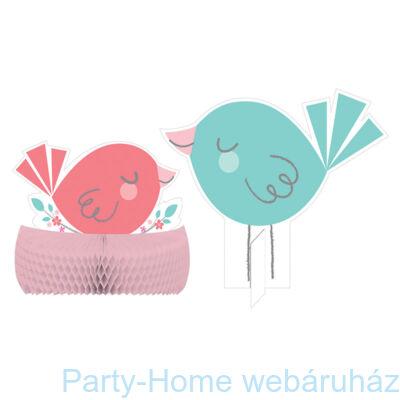 Hello Baby Girl Party Asztaldekoráció 30 cm-es