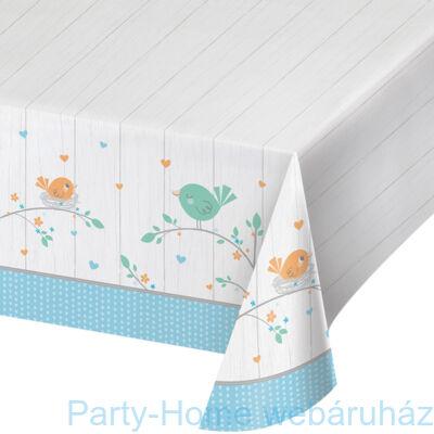 Hello Baby Boy Party Asztalterítő - 137 cm x 259 cm