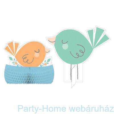 Hello Baby Boy Party Asztaldekoráció 30 cm-es