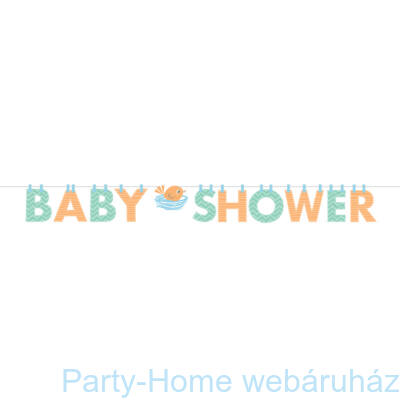 Hello Baby Boy Party Baby Shower Girland - 1,7 m
